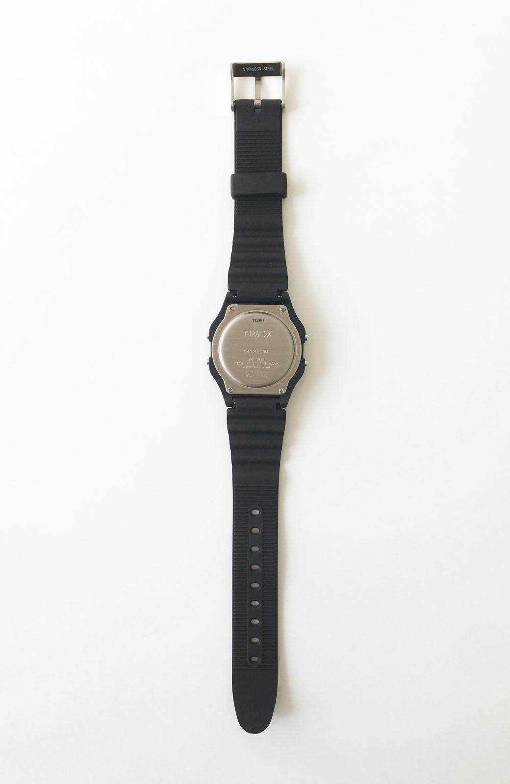 haco! TIMEX クラシックデジタル <ブラック>の商品写真3
