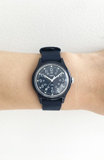 haco! TIMEX Original Camper 29mm <ネイビー>の商品写真