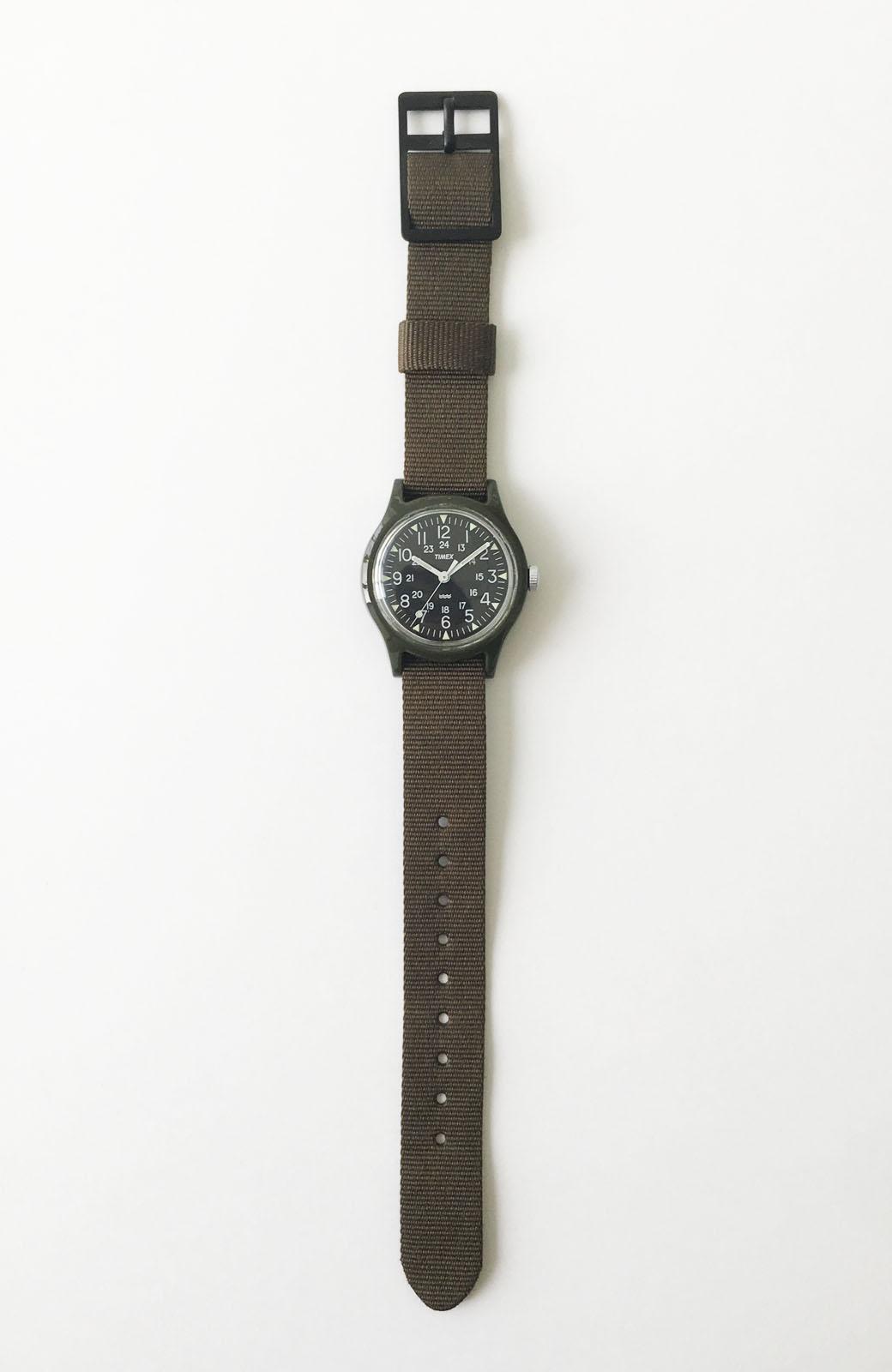 haco! TIMEX Original Camper 29mm <カーキ>の商品写真3