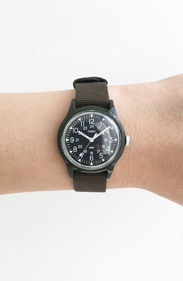 haco! TIMEX Original Camper 29mm <カーキ>の商品写真