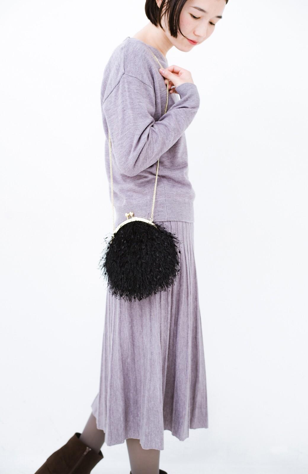 haco! 寝坊した朝でも安心!パッと着るだけでコーデが完成する女っぽニットアップ <杢グレー>の商品写真20