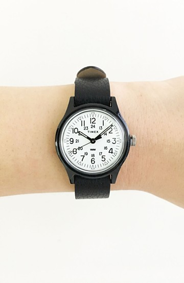 haco! TIMEX Original Camper 29mm <ブラック>の商品写真
