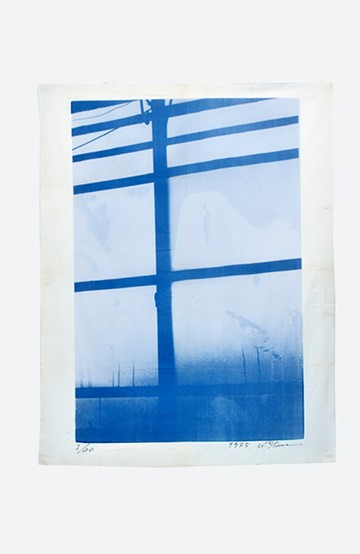 haco! 【アート】島 州一 「窓 ブルー」 <その他>の商品写真