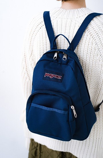 haco! JANSPORT HALF PINT <ネイビー>の商品写真
