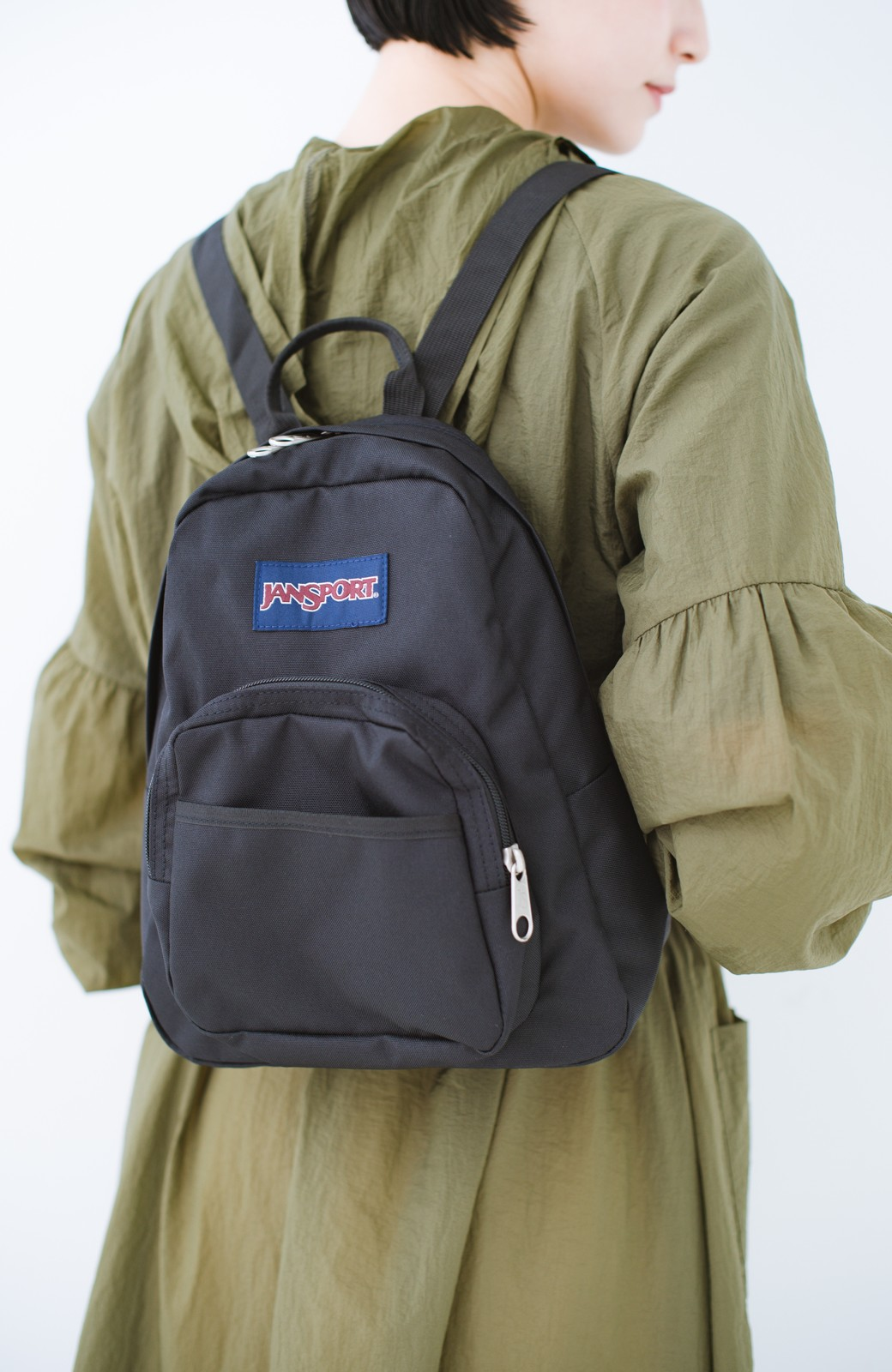 haco! JANSPORT HALF PINT <ブラック>の商品写真2