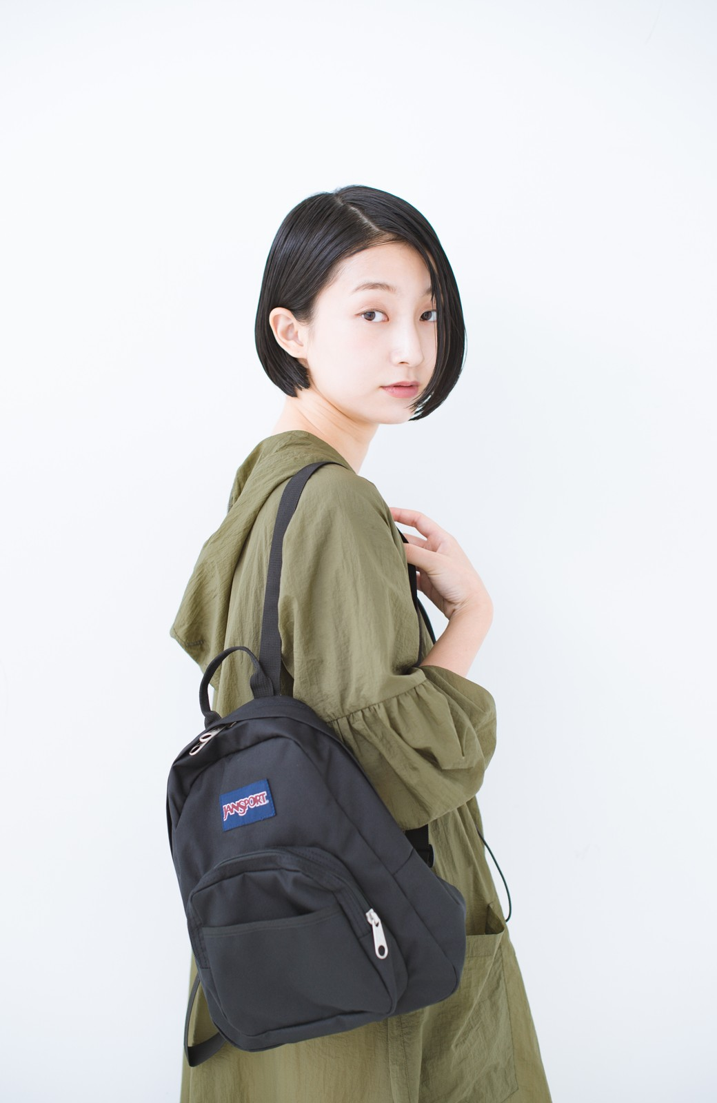 haco! JANSPORT HALF PINT <ブラック>の商品写真4