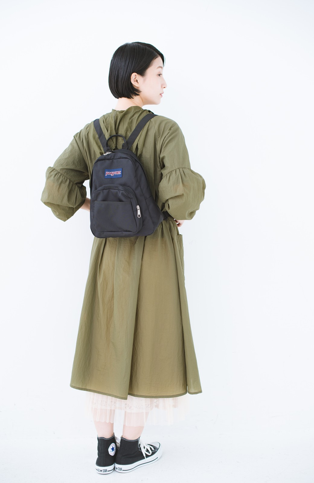 haco! JANSPORT HALF PINT <ブラック>の商品写真5