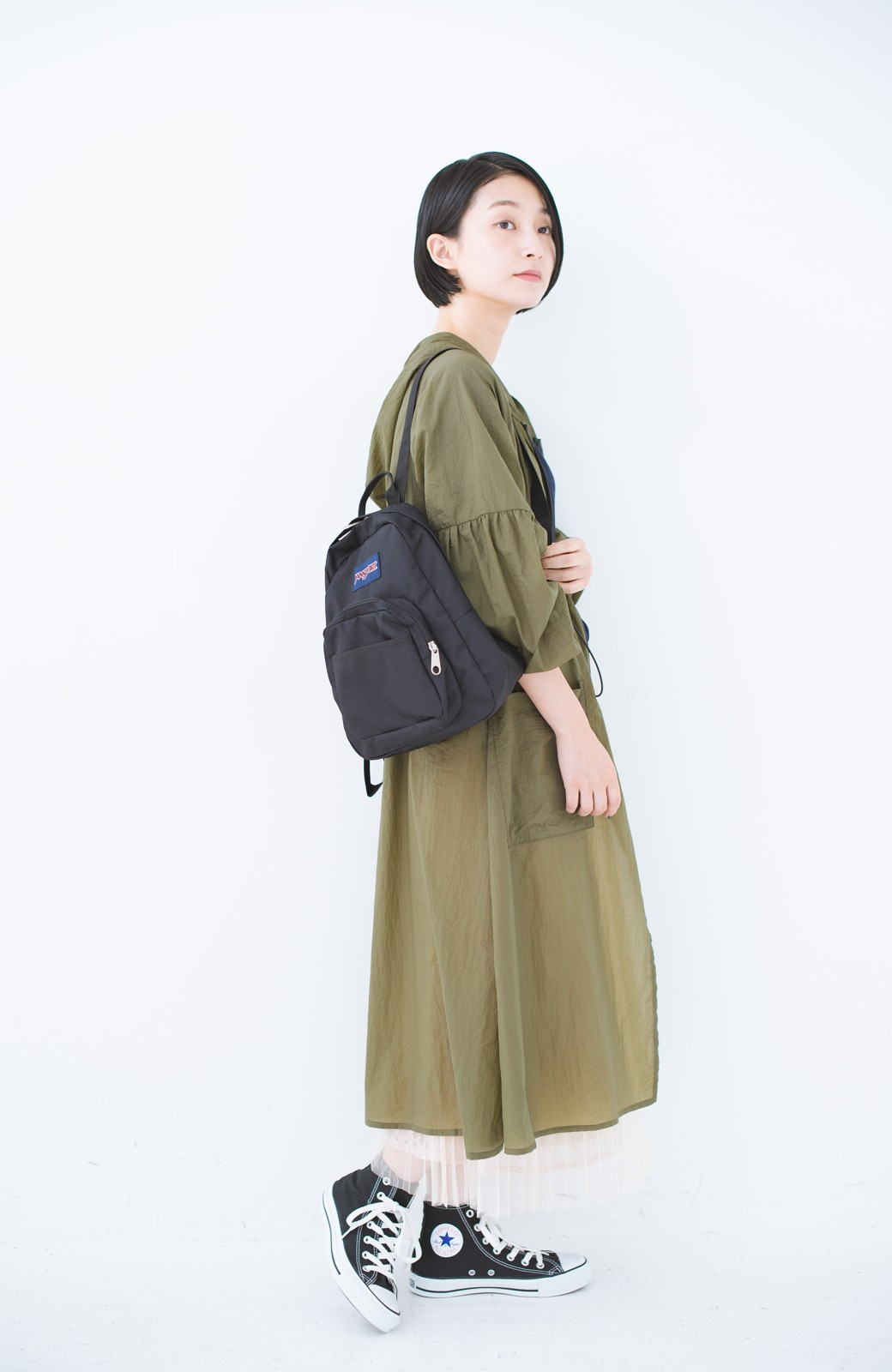 haco! JANSPORT HALF PINT <ブラック>の商品写真7