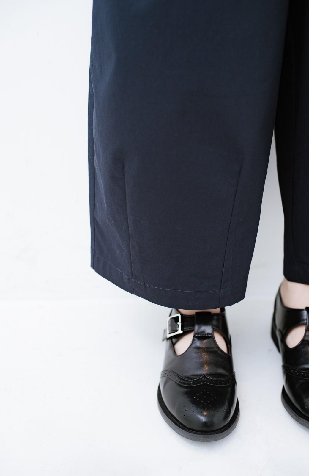 haco! どんなスタイルもきちんと見えする 便利なウィングチップシューズ <ブラック>の商品写真4
