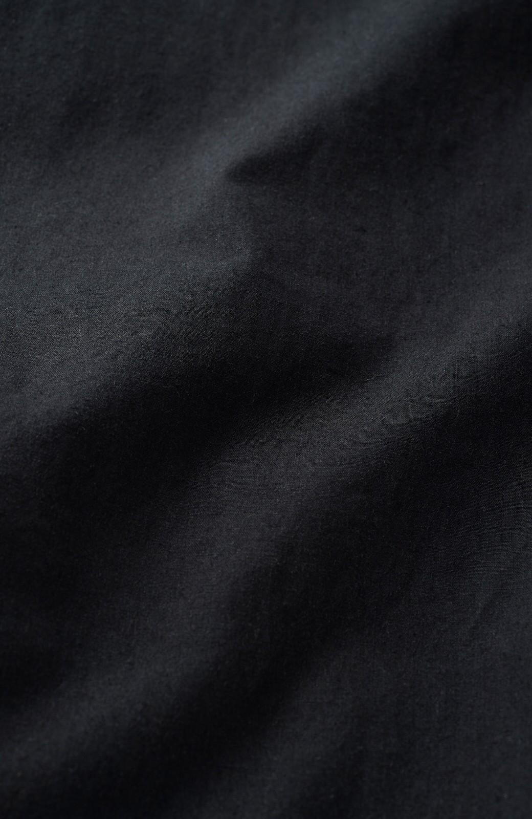 haco! 太ってもばれないくらいのゆるシルエットがオシャレなプルオーバーブラウス <ブラック>の商品写真6