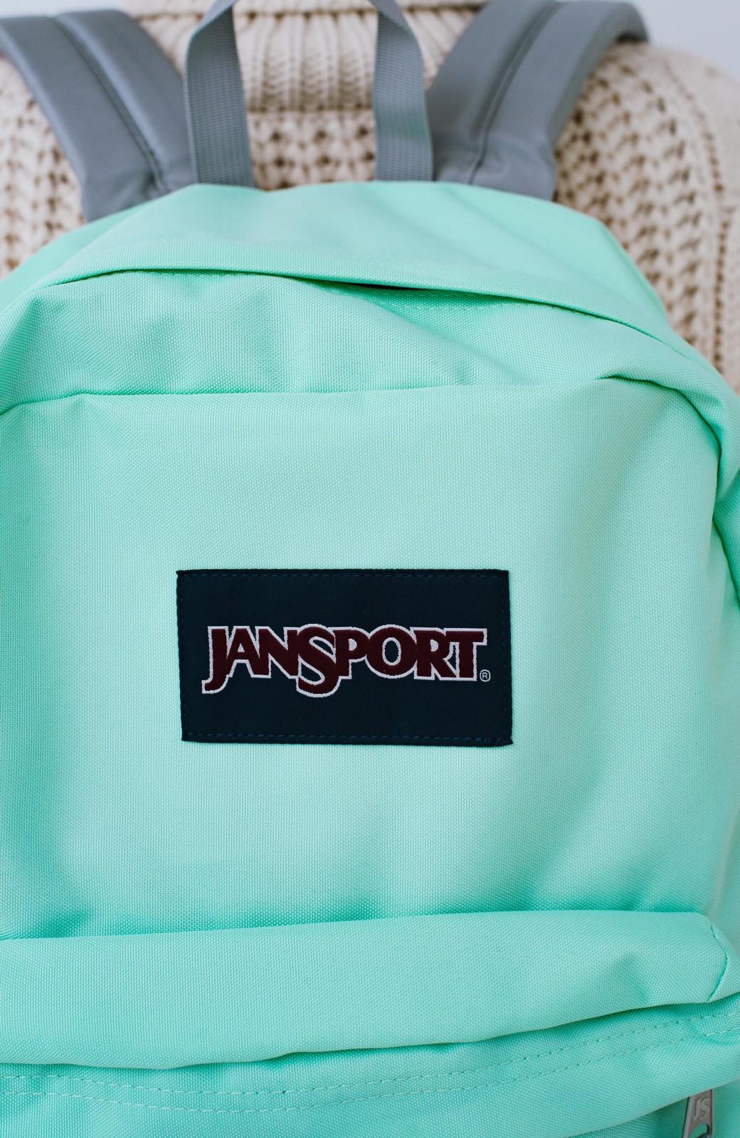 haco! 【新色追加】JANSPORT SUPERBREAK リュック <ミント>の商品写真3
