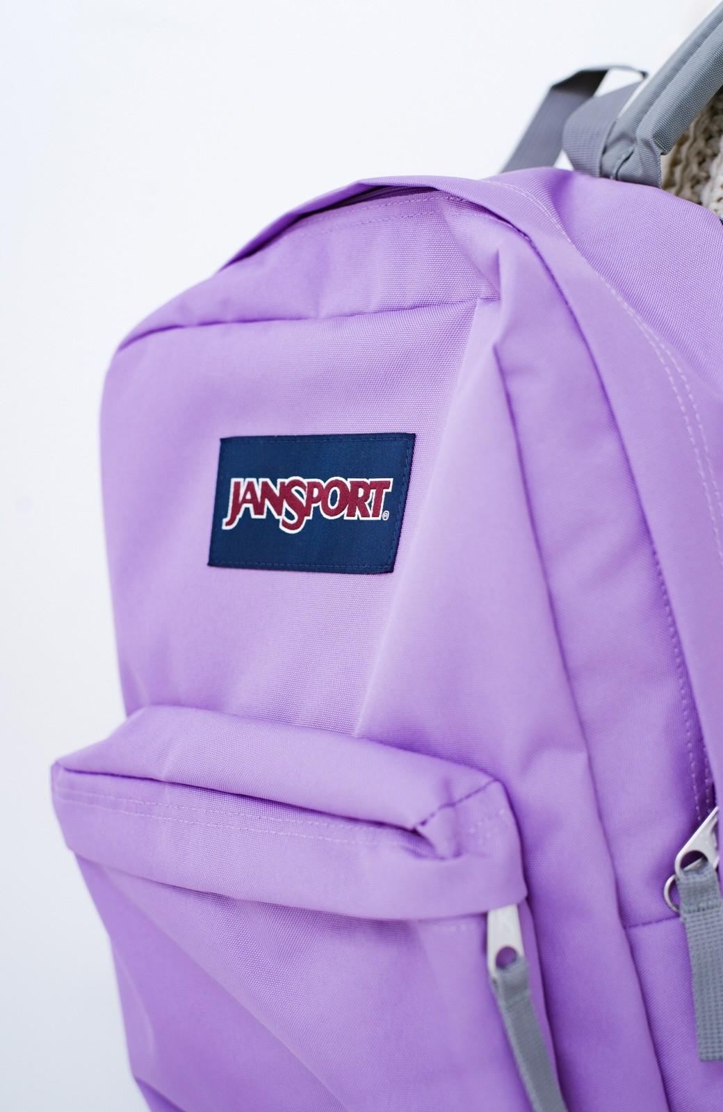 haco! 【新色追加】JANSPORT SUPERBREAK リュック <ライラック>の商品写真4