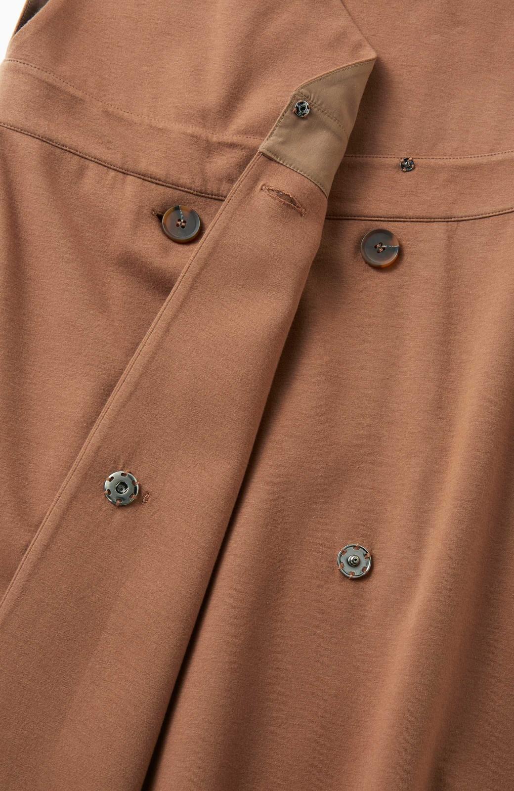 haco! 【ブラック残りわずか!】頑張りすぎずにちゃんとかわいい カットソージャンパースカート <ライトブラウン>の商品写真5