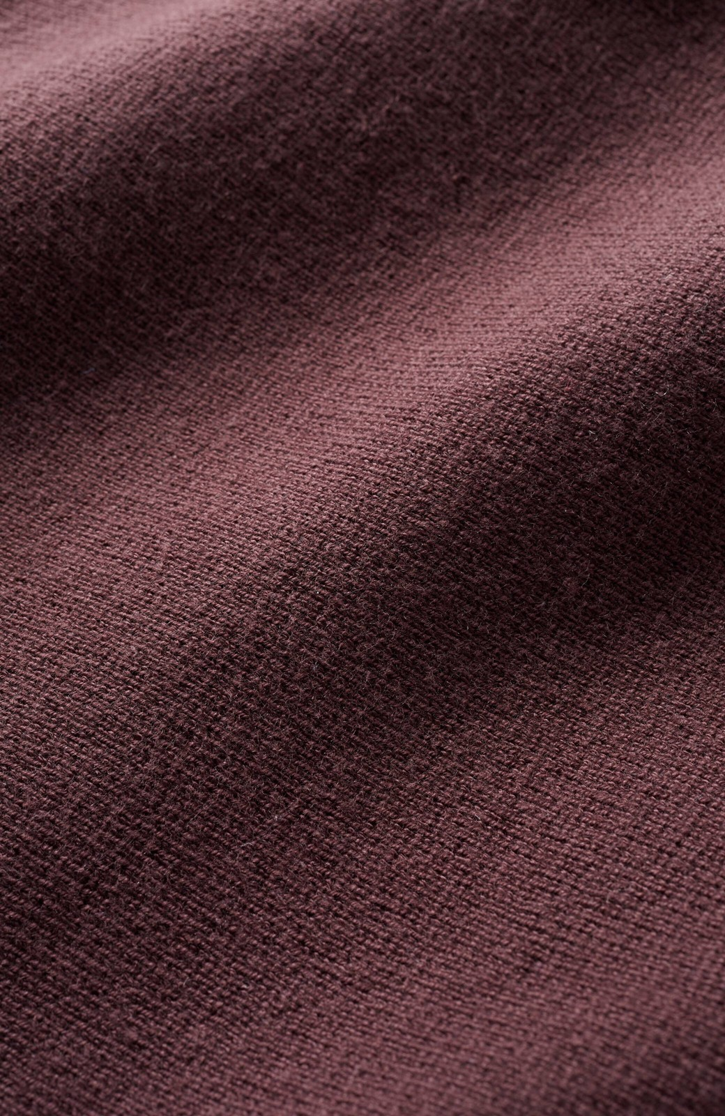 haco! 長ーーい季節着られてきちんとみせてくれる 便利なミラノリブニット <ブラウン>の商品写真3