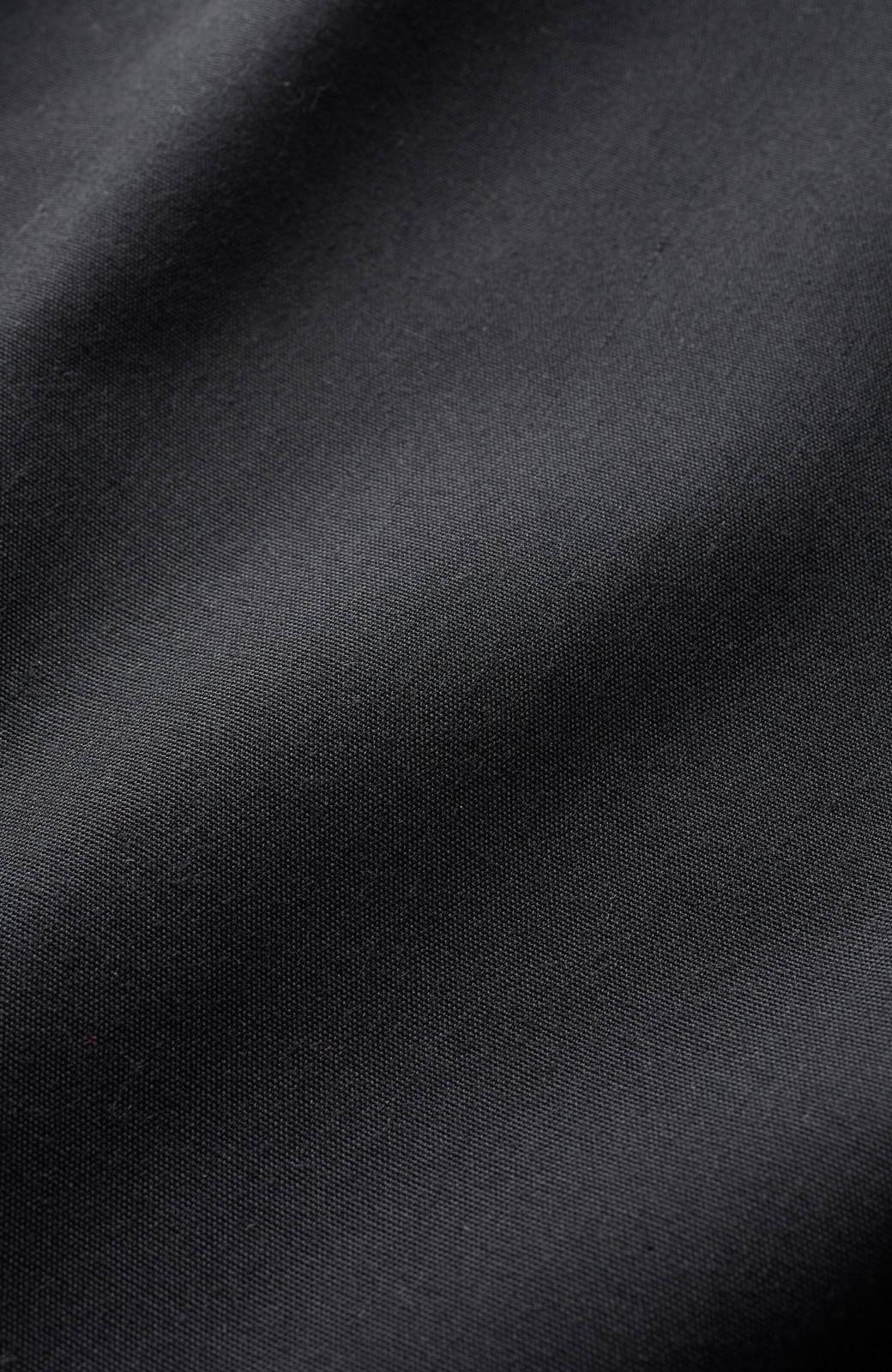 haco! 隠すとこ隠してちゃっかり女子見せバルーンシルエットワンピース <ブラック>の商品写真3