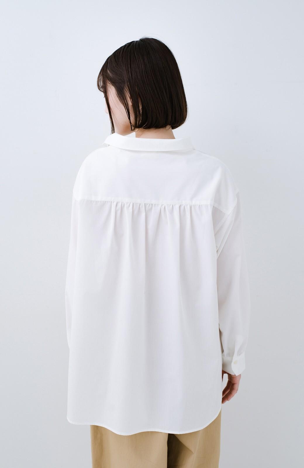 haco! 凛とした気分になる ロールネックシャツ <ホワイト>の商品写真12