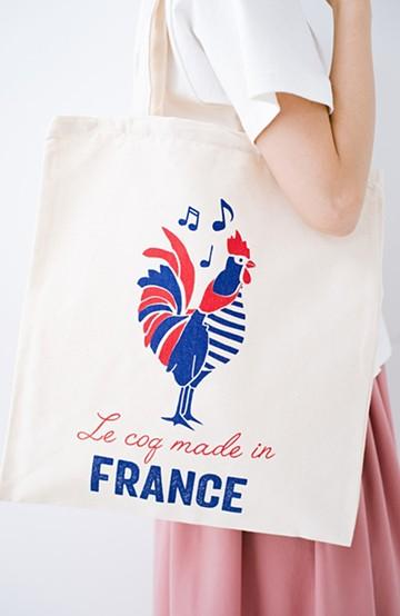 haco! キッチンウエア屋さんが作ったMADE IN FRANCE のエコバッグ by TISSAGE DE L'OUEST (ティサージュ・ドゥ・ルウェスト) <鳥>の商品写真
