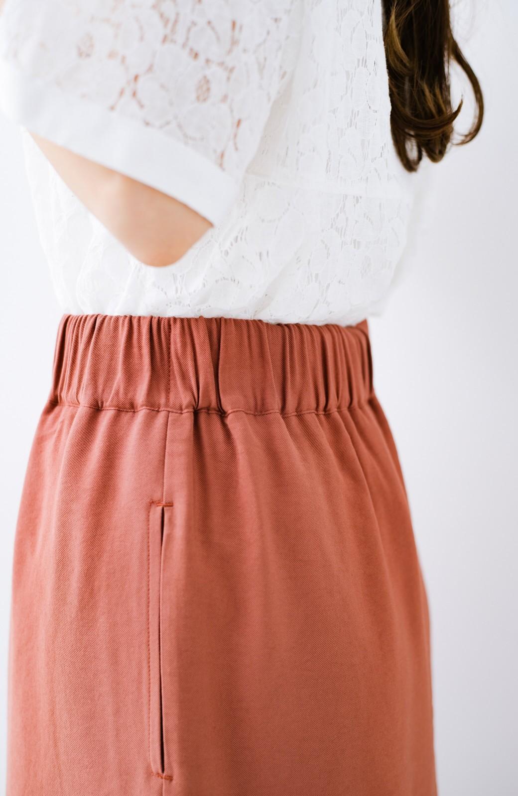 haco! ふんわりシルエットが華やかな大人ギャザースカート <スモークピンク>の商品写真6