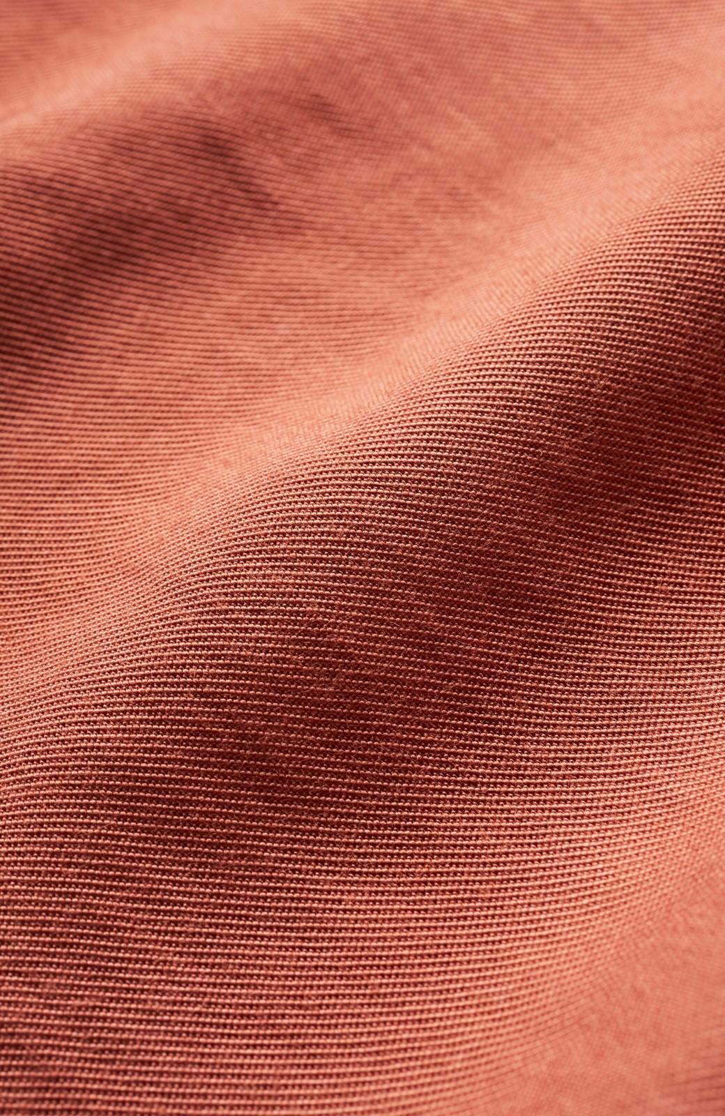 haco! ふんわりシルエットが華やかな大人ギャザースカート <スモークピンク>の商品写真3