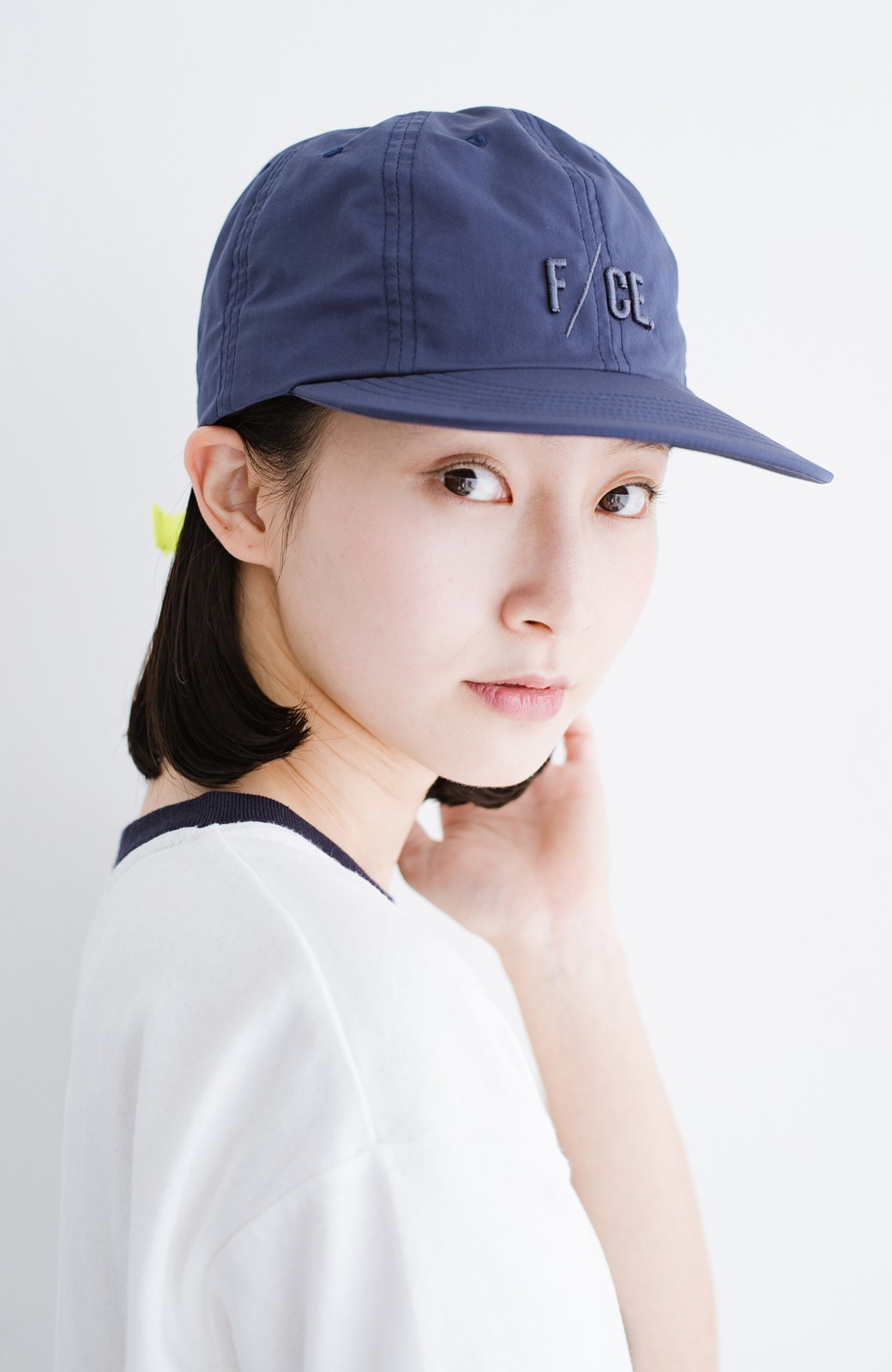 haco! F/CE. (エフシーイー)8 PANNEL CAP <ネイビー>の商品写真1