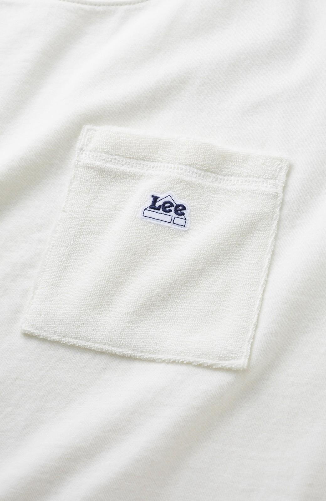 haco! 別注Lee パイルポケットTシャツ <ホワイト>の商品写真5