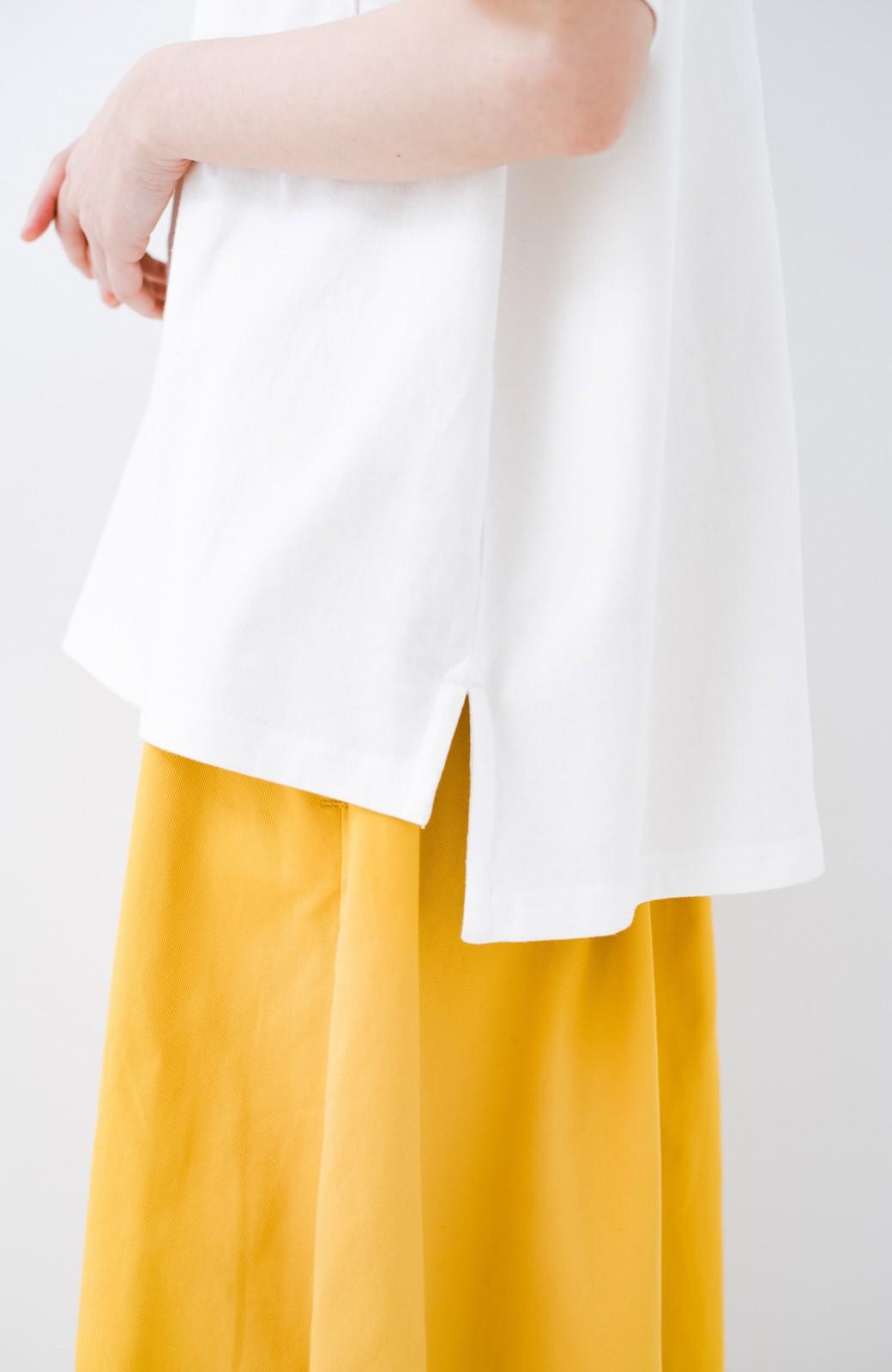 haco! 別注Lee パイルポケットTシャツ <ホワイト>の商品写真6