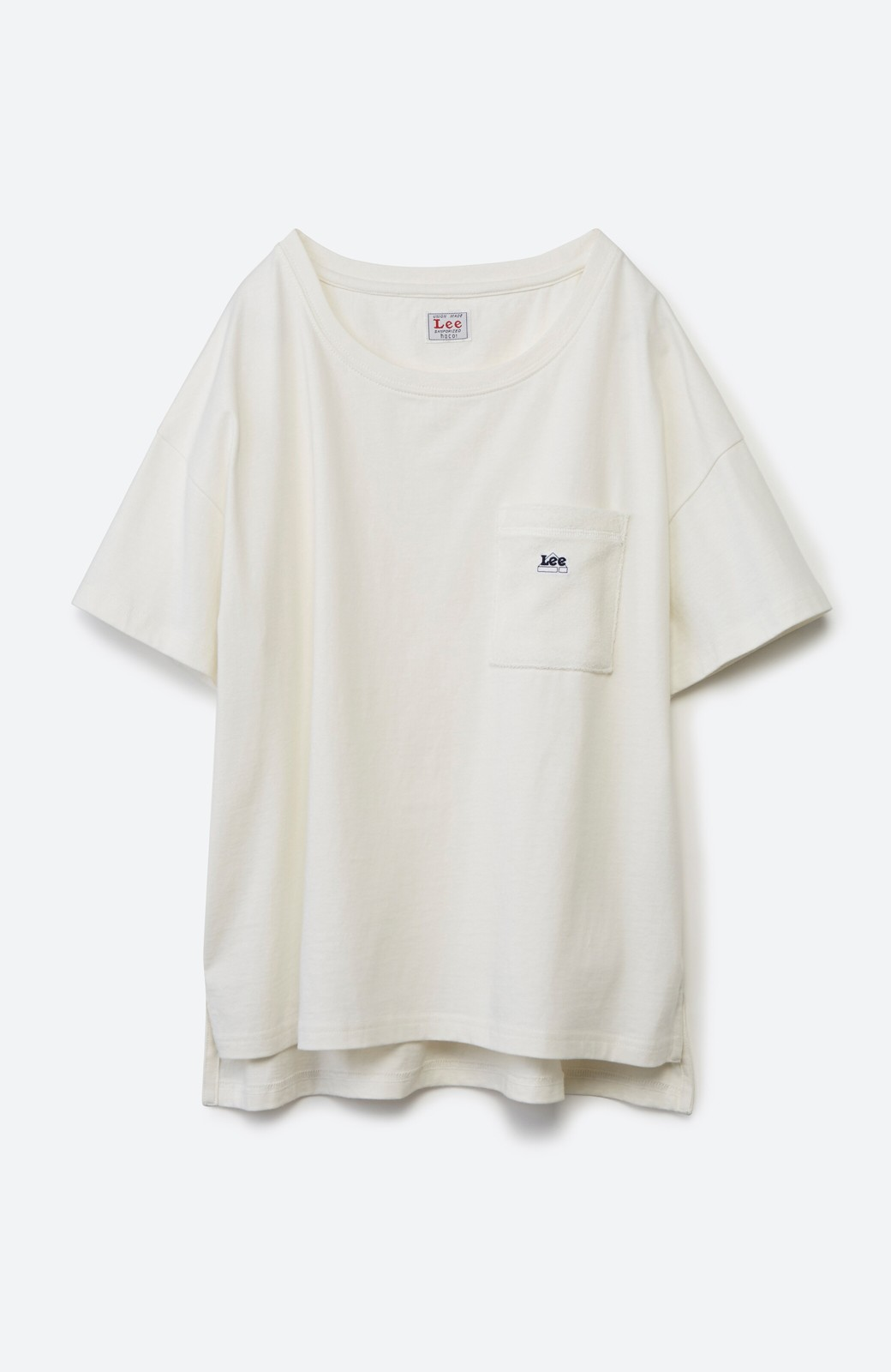 haco! 別注Lee パイルポケットTシャツ <ホワイト>の商品写真2