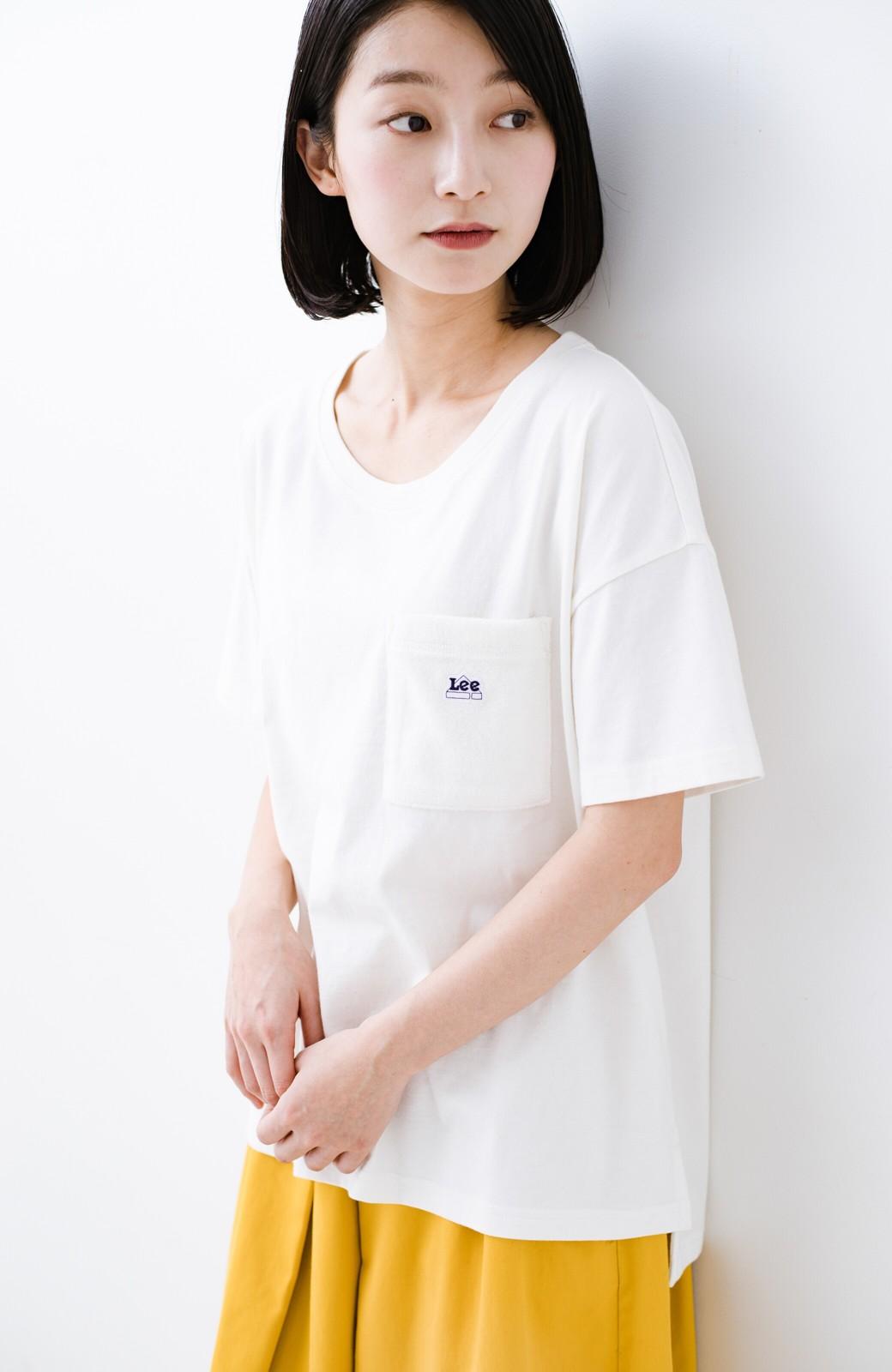 haco! 別注Lee パイルポケットTシャツ <ホワイト>の商品写真9