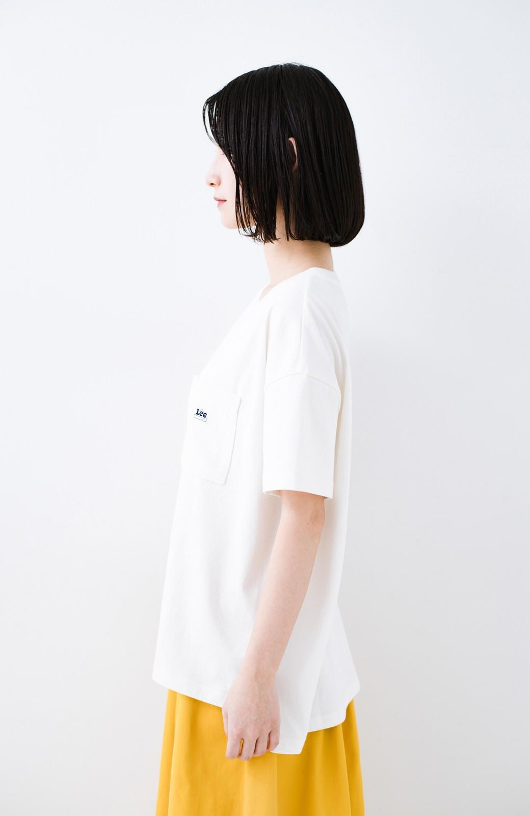 haco! 別注Lee パイルポケットTシャツ <ホワイト>の商品写真10