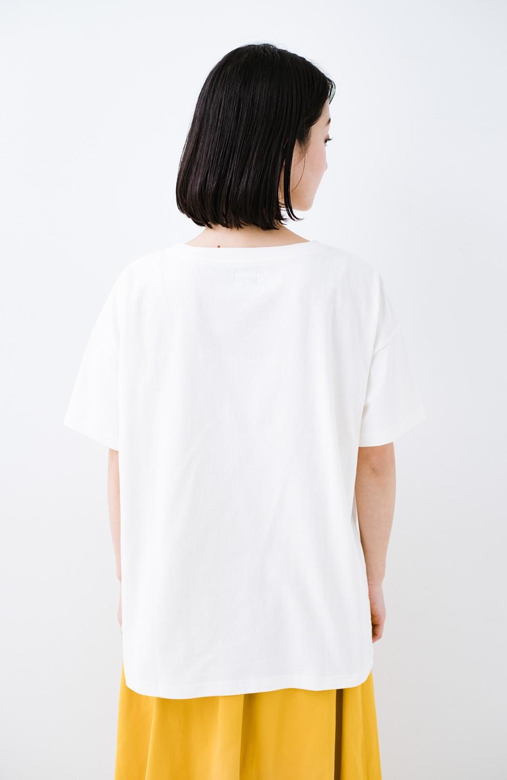 haco! 別注Lee パイルポケットTシャツ <ホワイト>の商品写真11