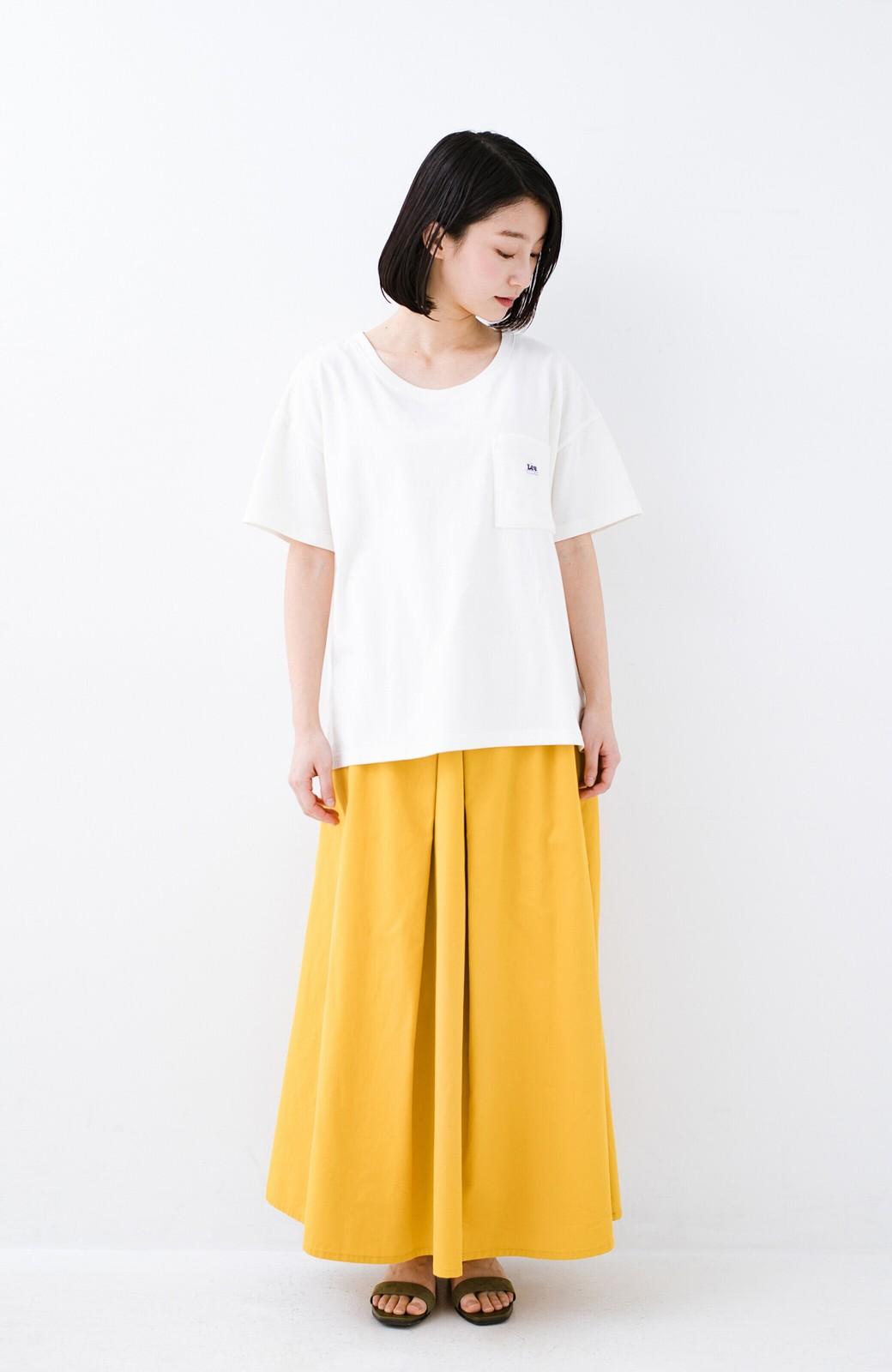 haco! 別注Lee パイルポケットTシャツ <ホワイト>の商品写真8