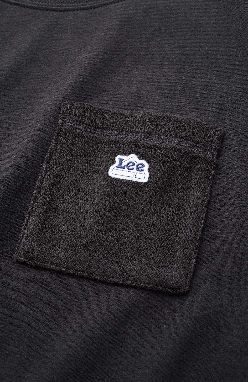 haco! 別注Lee パイルポケットTシャツ <ブラック>の商品写真3