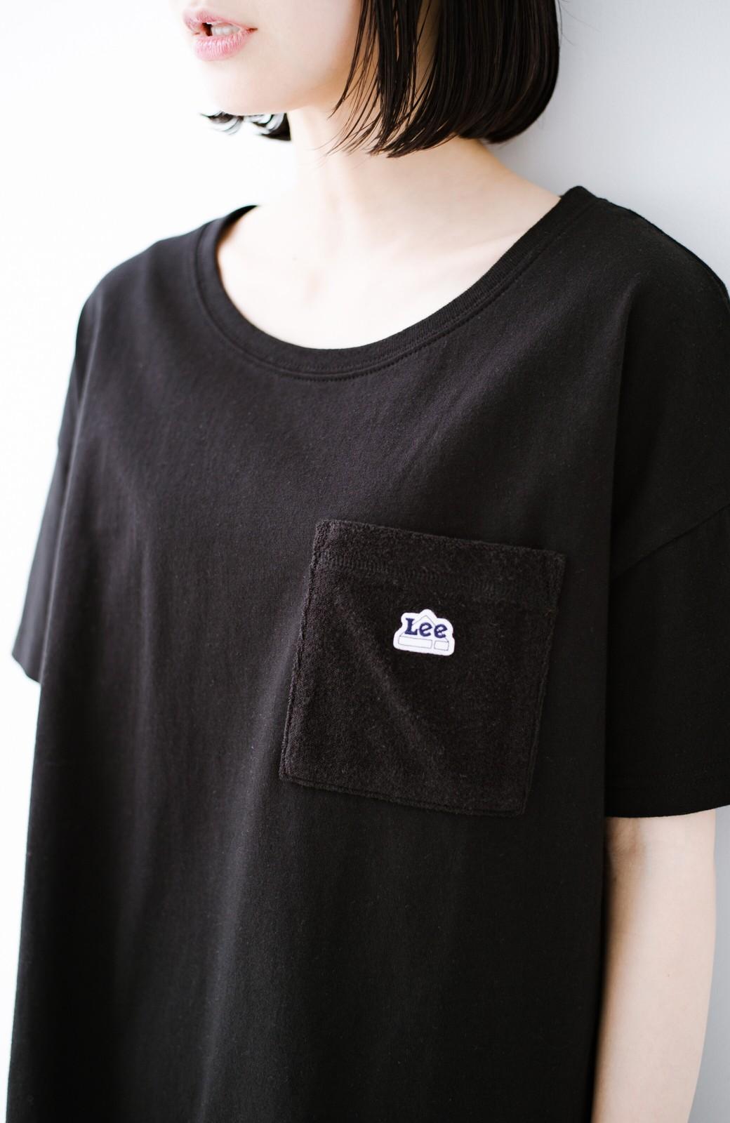 haco! 別注Lee パイルポケットTシャツ <ブラック>の商品写真6