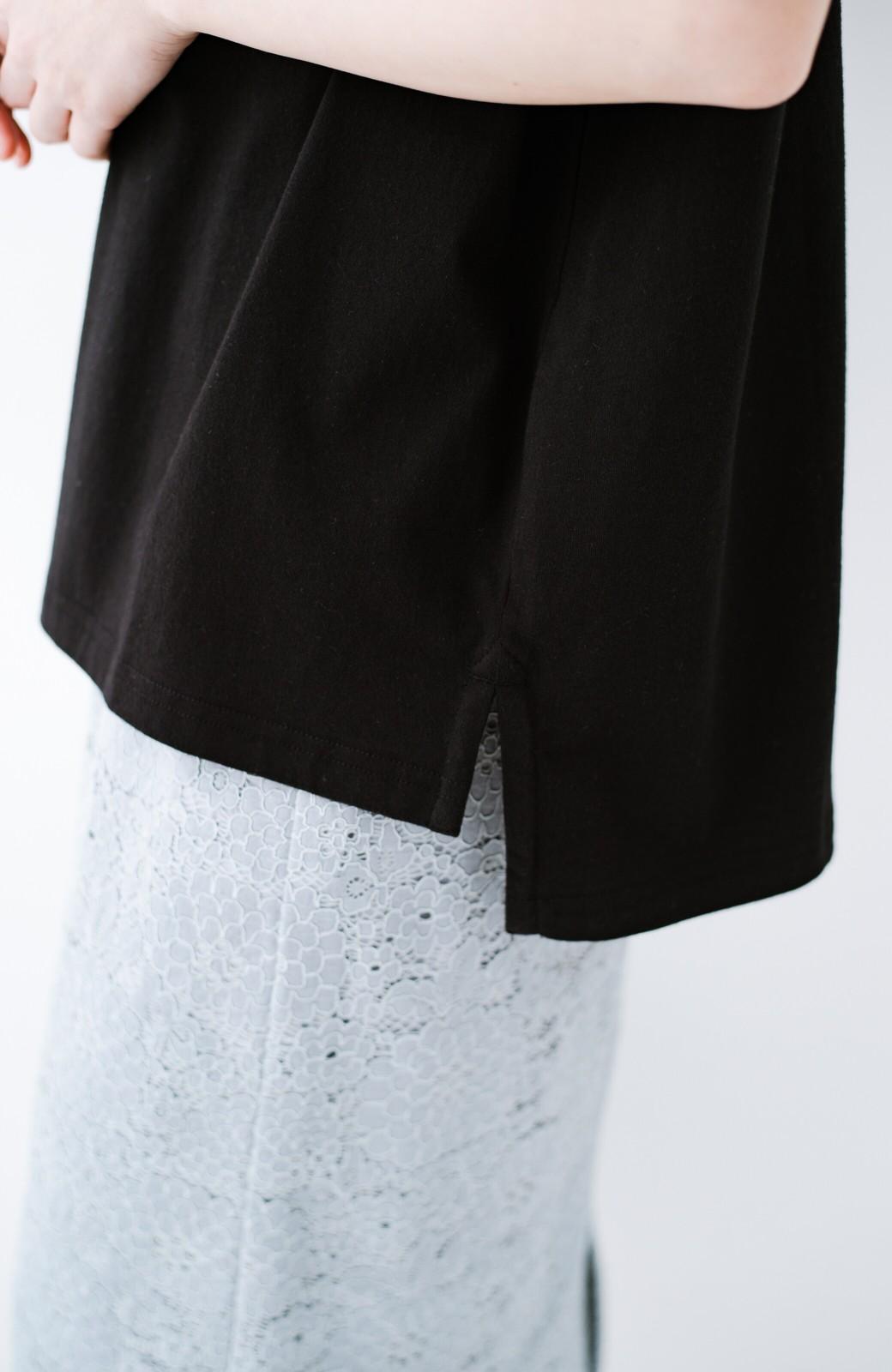 haco! 別注Lee パイルポケットTシャツ <ブラック>の商品写真7
