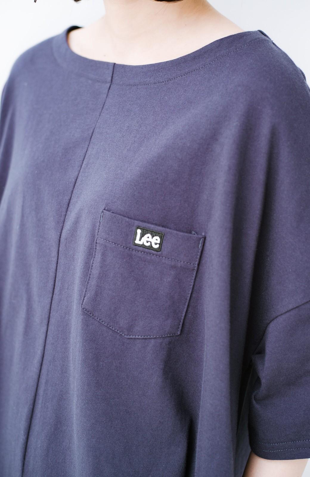 haco! 【今年も再販!】別注Lee ゆったりワンピース <ネイビー>の商品写真5