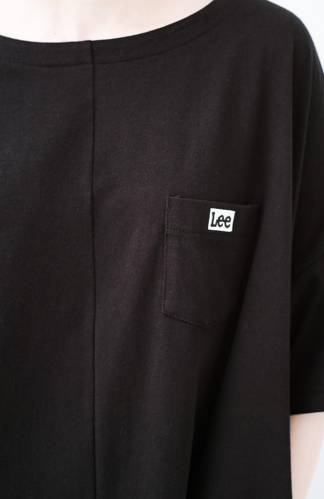 haco! 【今年も再販!】別注Lee ゆったりワンピース <ブラック>の商品写真5