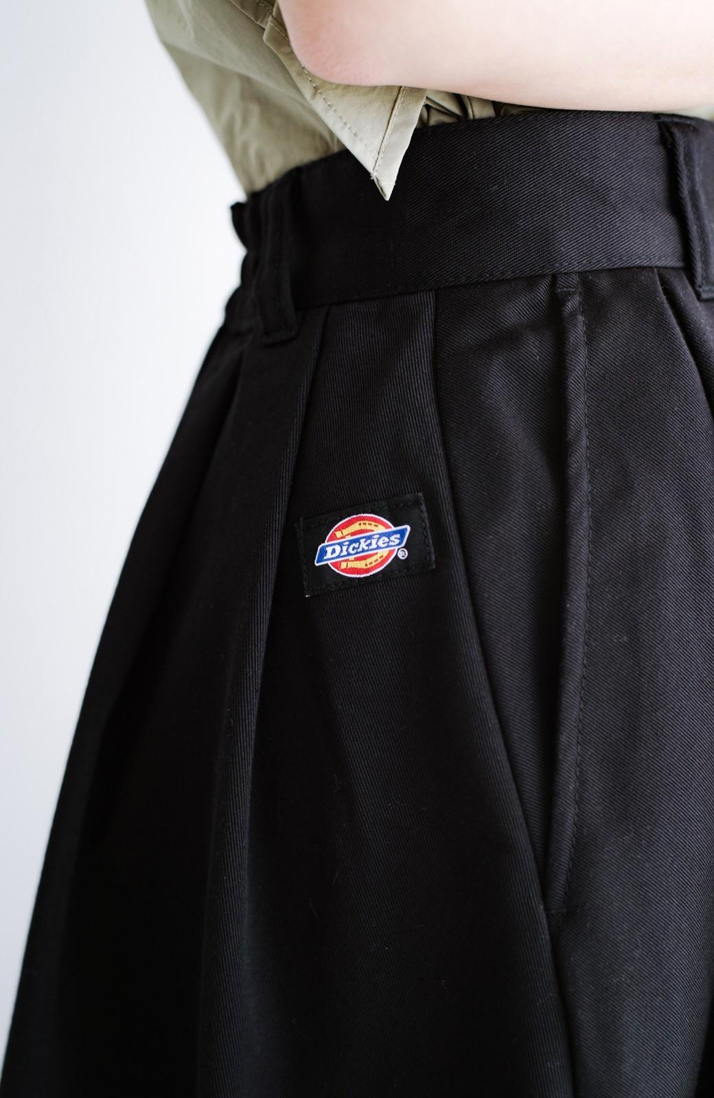 haco! Dickies TCツイルタック入りロングスカート <ブラック>の商品写真4