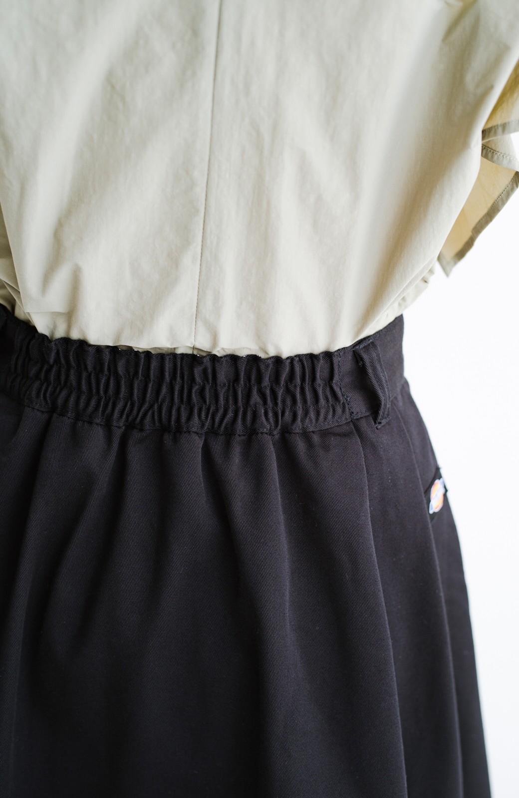 haco! Dickies TCツイルタック入りロングスカート <ブラック>の商品写真6