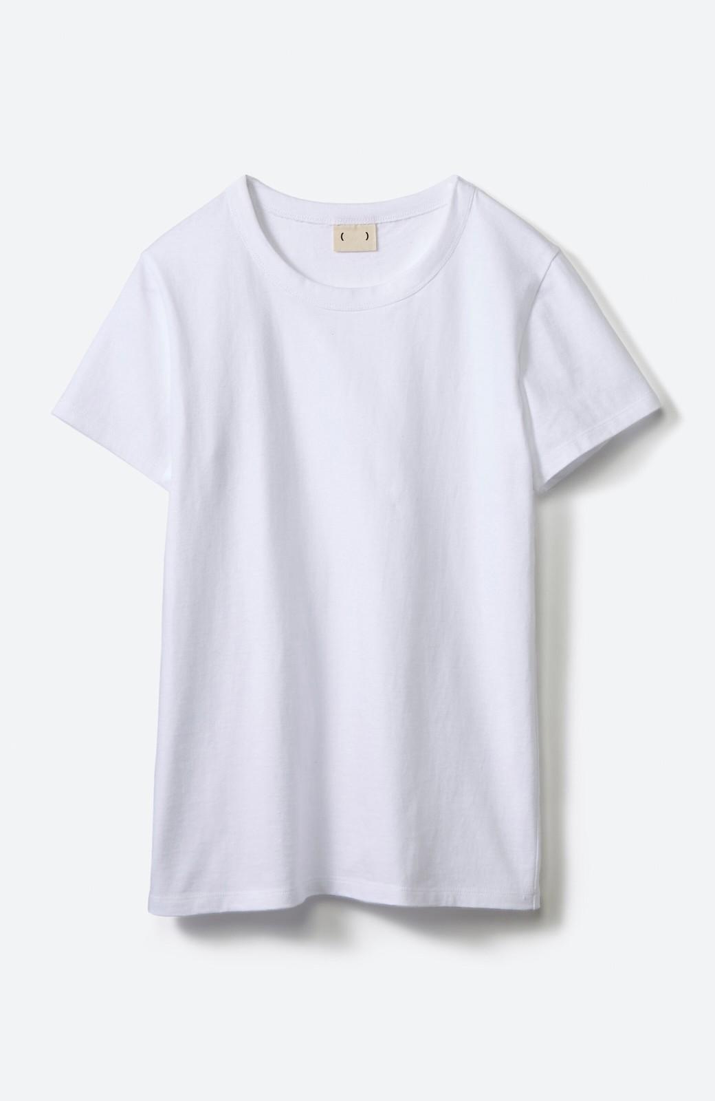 haco! Tシャツを女っぽく着こなせるオトナセットbyMAKORI <ホワイト>の商品写真3