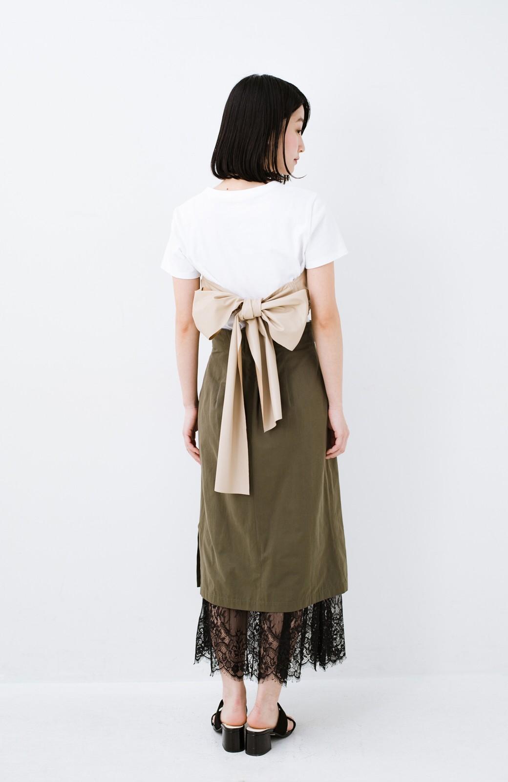haco! Tシャツを女っぽく着こなせるオトナセットbyMAKORI <ホワイト>の商品写真10