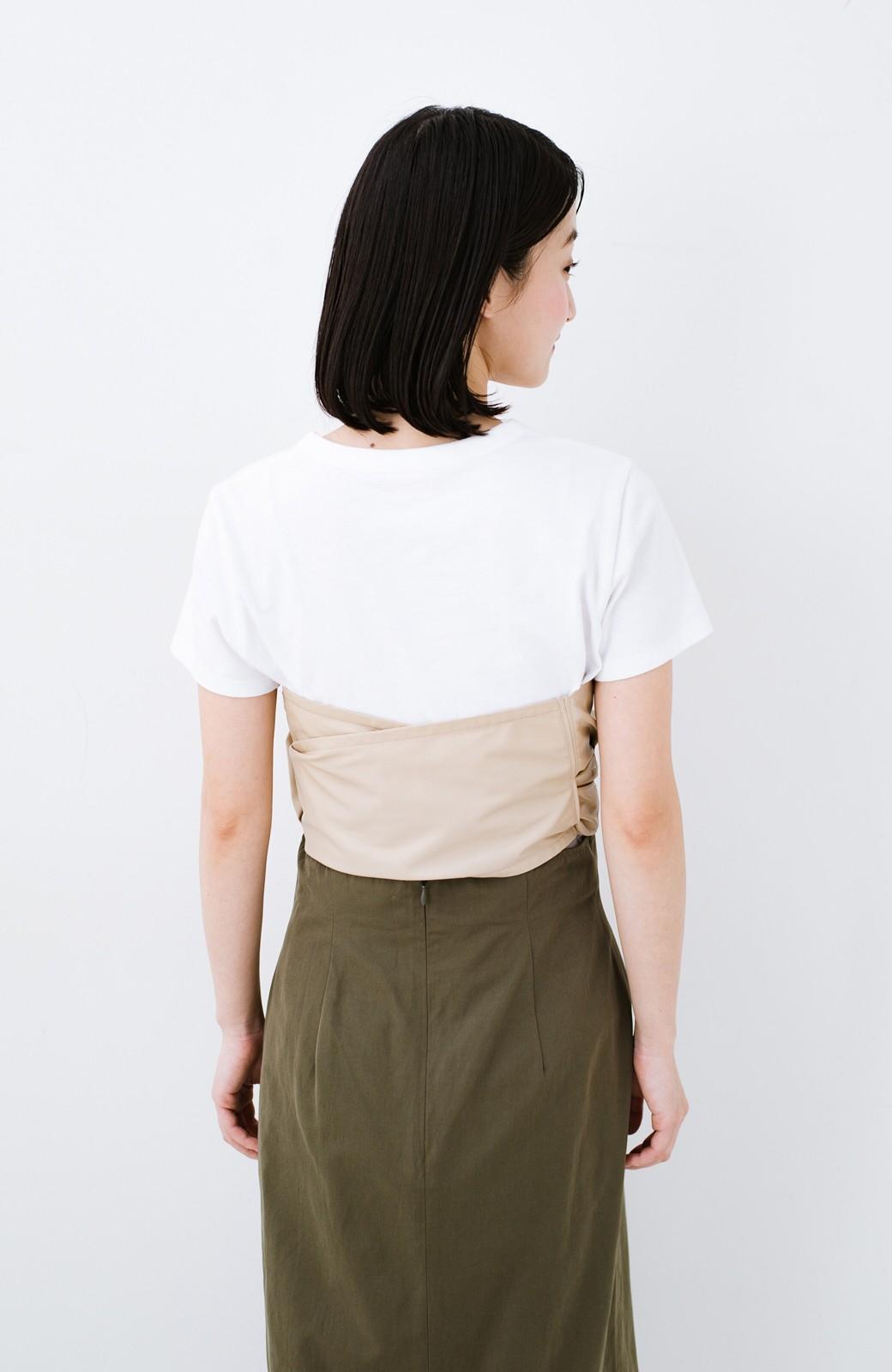 haco! Tシャツを女っぽく着こなせるオトナセットbyMAKORI <ホワイト>の商品写真12