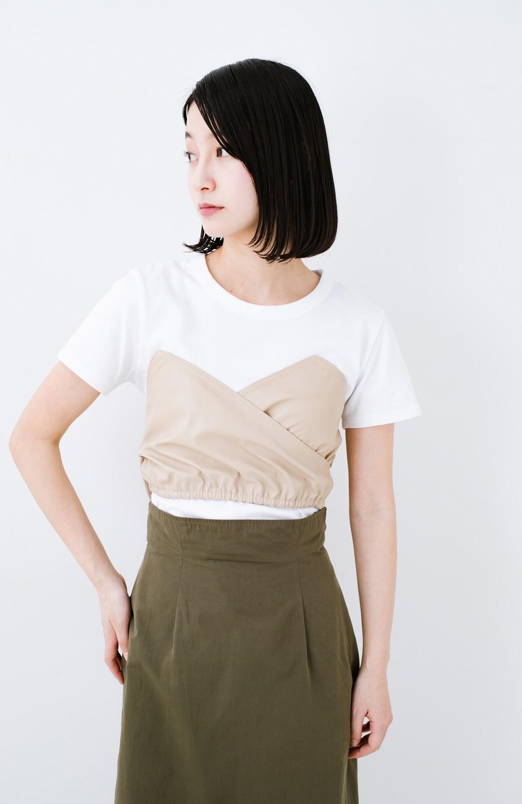 haco! Tシャツを女っぽく着こなせるオトナセットbyMAKORI <ホワイト>の商品写真13