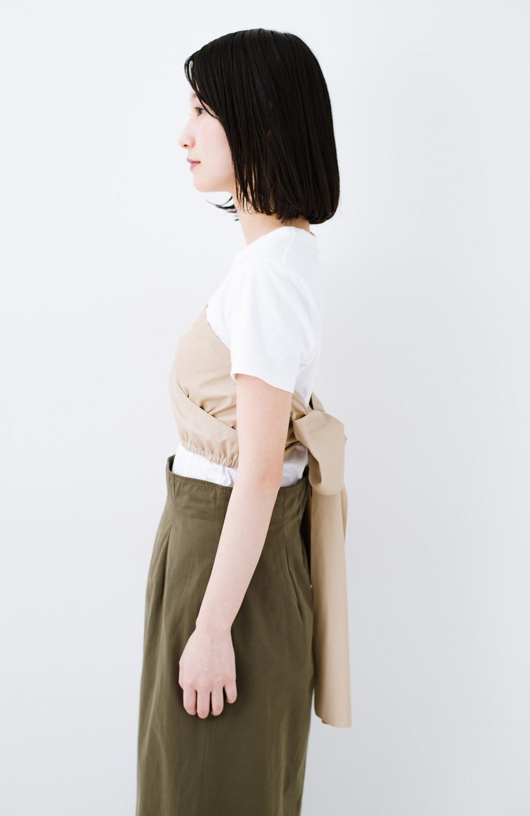 haco! Tシャツを女っぽく着こなせるオトナセットbyMAKORI <ホワイト>の商品写真14