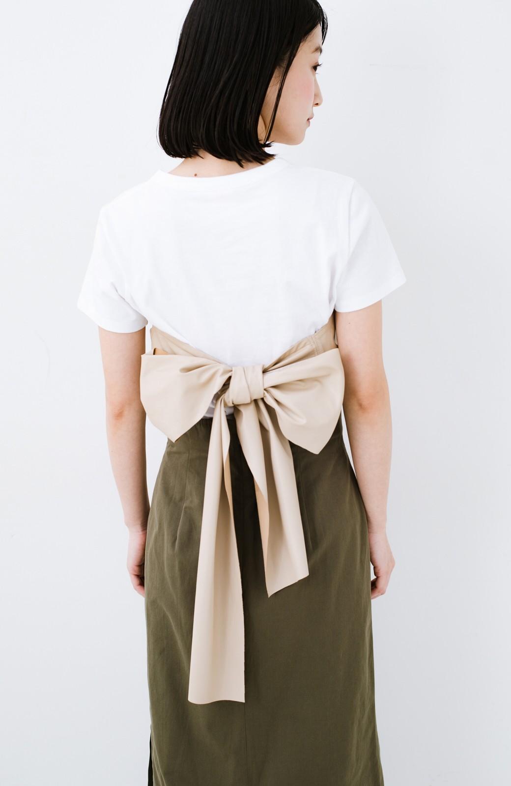 haco! Tシャツを女っぽく着こなせるオトナセットbyMAKORI <ホワイト>の商品写真15