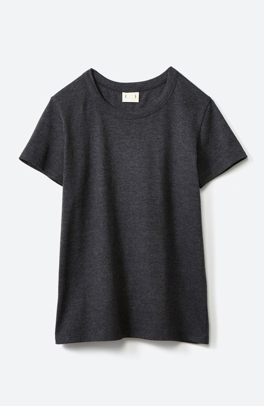 haco! Tシャツを女っぽく着こなせるオトナセットbyMAKORI <チャコールグレー>の商品写真2