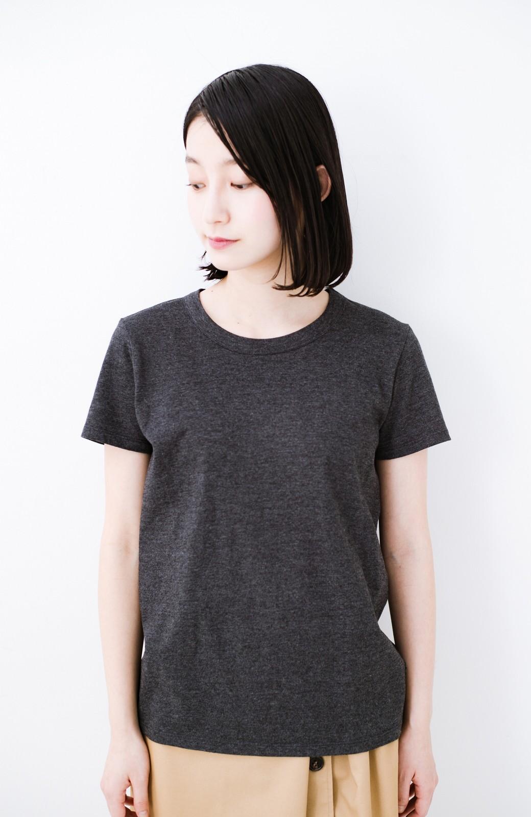 haco! Tシャツを女っぽく着こなせるオトナセットbyMAKORI <チャコールグレー>の商品写真14