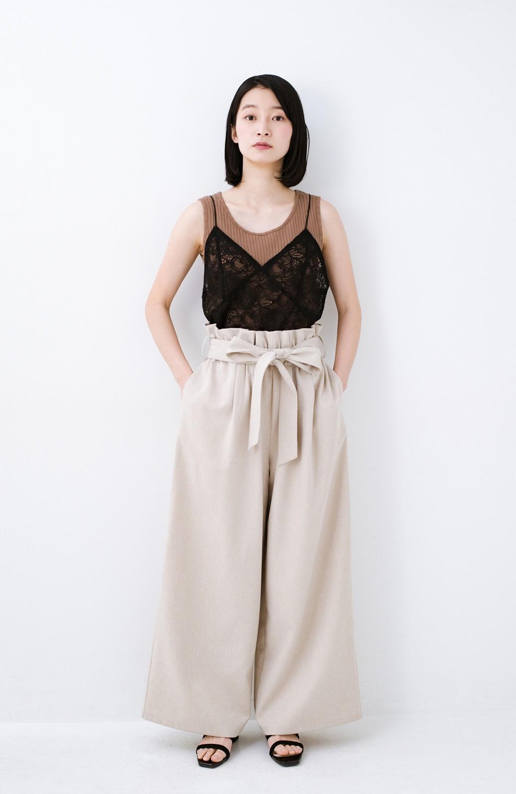 haco! Tシャツを女っぽく着こなせるオトナセットbyMAKORI <チャコールグレー>の商品写真9