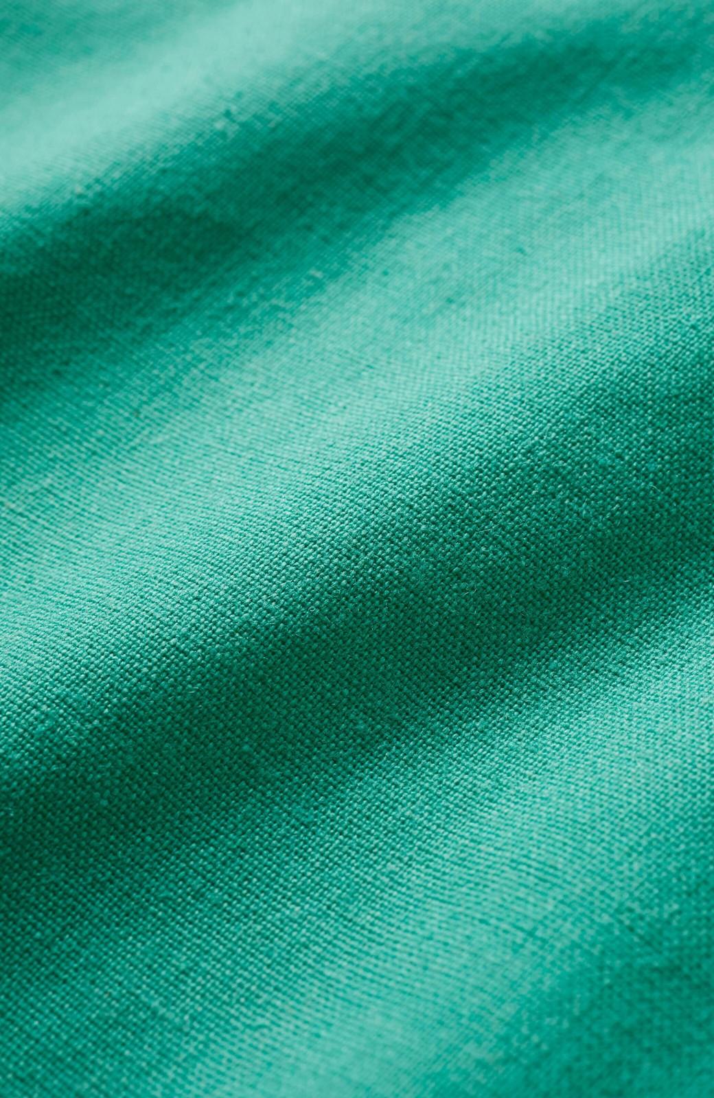 haco! 楽してスタイルが決まる 涼やか麻混スカート <グリーン>の商品写真7
