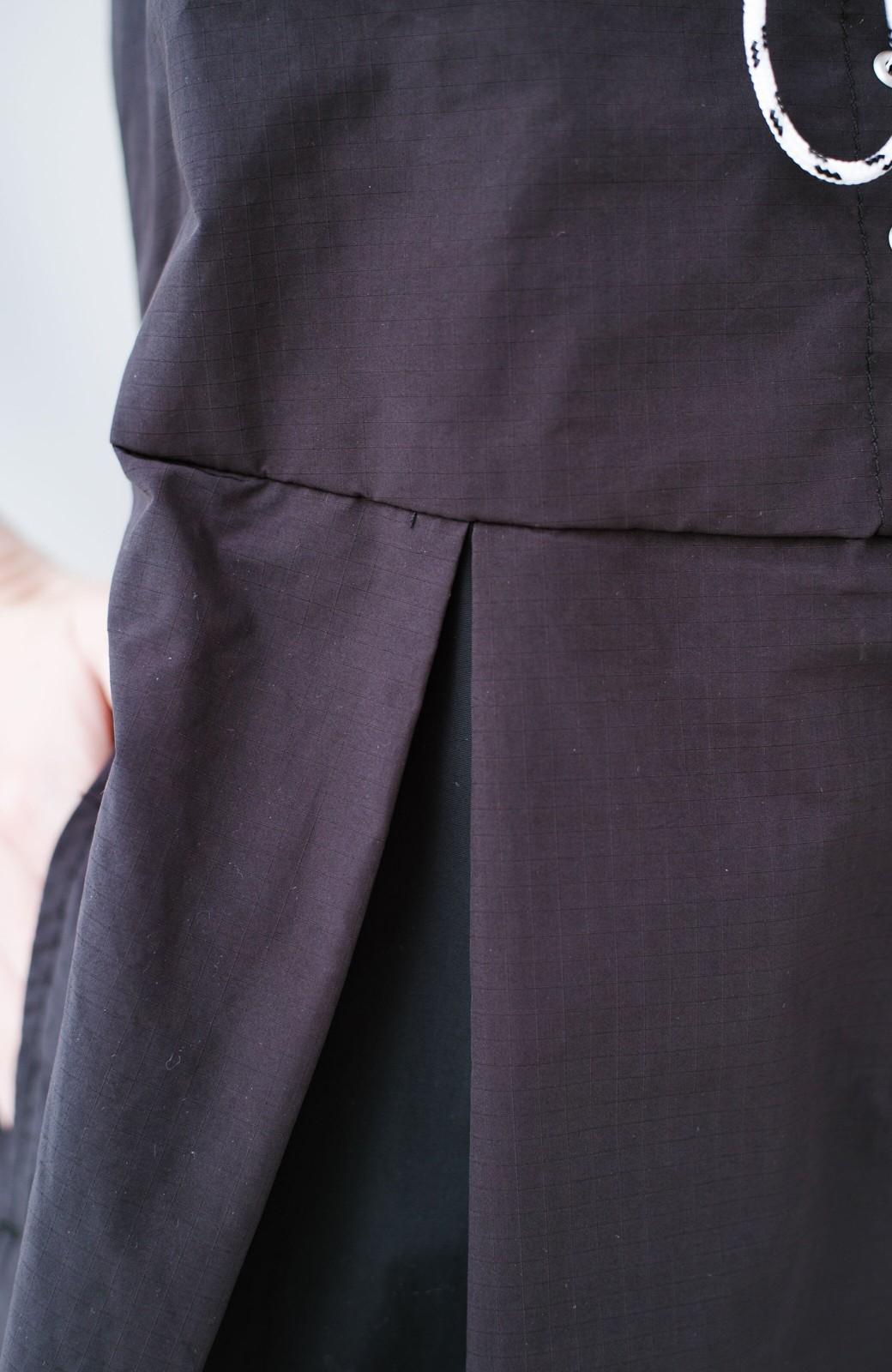 haco! F/CE.(エフシーイー) RACE UP DRESS <ブラック>の商品写真3