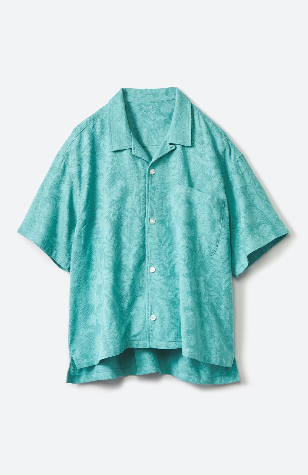haco! 【今年も再販!】京都の浴衣屋さんと作った浴衣生地のシャツ <グリーン>の商品写真21